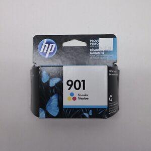 HP-901-Tri-Color-Ink-Cartridge-CC656AN-Genuine-Sealed-APR