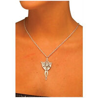 Arwen Necklace - The Lord Of The Rings Elf Metal Pendant Evenstar Jewelry Elven