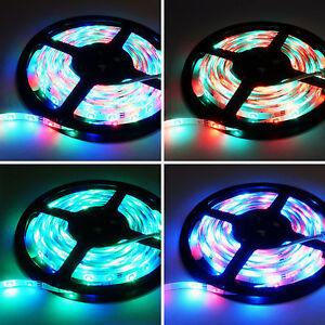 5M 12V IP65 Waterproof 300 LED Strip Light 3528/5050 SMD String Ribbon Tape Roll eBay