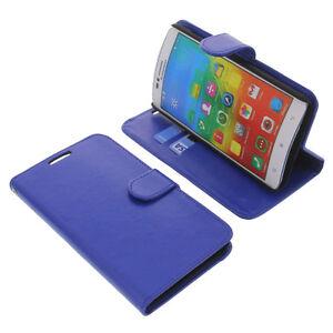 etui-pour-Lenovo-A816-style-Livre-etui-coque-etui-livre-pour-telephone-bleu