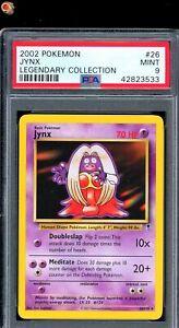 Jynx Non-Holo Rare 2002 WOTC Pokemon Card 26/110 Legendary Set PSA 9 MINT