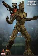 HOT TOYS 1/6 MARVEL GUARDIANS OF THE GALAXY MMS254 ROCKET & GROOT ACTION FIGURE