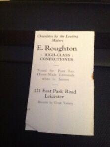 Ephemera-1930-Advert-Leicester-E-Roughton-Confectioner-East-Park-Road-da4