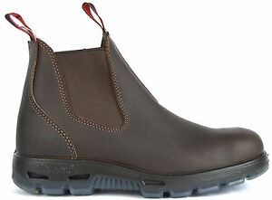 efa0787863e45d NEW Redback Puma BROWN Leather Water Resistant Slip on Work Boots ...