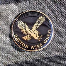 Black Eagle Dayton Zenith Wire Wheel Chips Emblems Decals Set Of 4 Size 238in