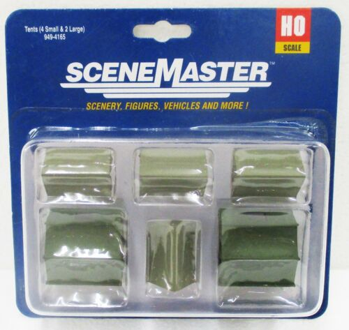 pcs HO Scale Walthers Scene Master 949-4165 Camping Tents 6