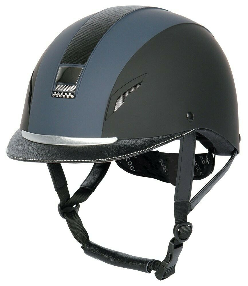 Harry´s Horse Reithelm Reitkappe CONCORDE  NEXT  blue black VG1.01