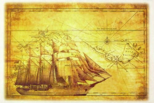 Papel De Arroz-velero-Para Decoupage Decopatch Scrapbook Craft Hoja