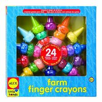 Alex Toys Little Hands Farm Finger Crayons , New, Free Shipping on Sale