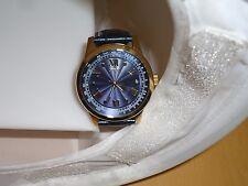 GUESS STEEL U0662G3 BLUE & GOLD TONE STAINLESS STEEL 100M QUARTZ WRIST WATCH