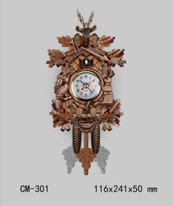 LE-German-Cuckoo-Clock-Vintage-Wall-Clock-Rocket-Model-Wooden-Wall-Clocks