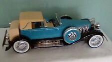 Vinage Duesenburg model J Car Jim Beam Porcelain Wiskey decanter empty of liquor