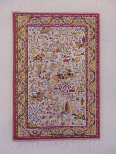 Woven Persian Miniature Rug Carpet Mouse Pad Doll House Mouserug Mousepad Kilim