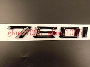 "Gloss Black /"" 330 i /"" Number Trunk Letters Emblem Badge Sticker for BMW 3 Series"