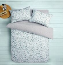 John Lewis CROFT COLLECTION Single FREYA DUVET COVER /& 1 Pillowcase Blue New