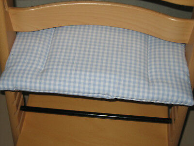 1tlg Sitzkissen Hellblau Für Tripp Trapp/st Treppenhochstuhl