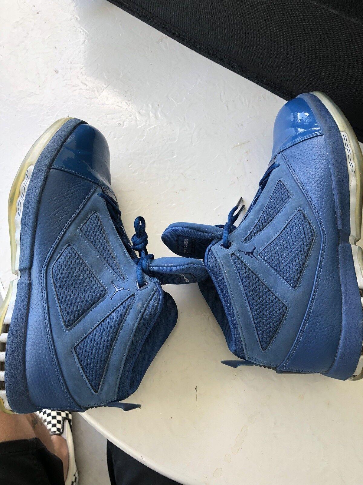 Nike air jordan 16 xvi retro - trophäenzimmer selten qs - größe 9,5 Blau marine.854255-416 selten trophäenzimmer 4931f9