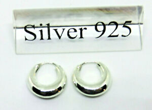 kleine-Creolen-Ohrhaenger-925er-Sterling-Silber-Ohrringe-Unisex-Neu