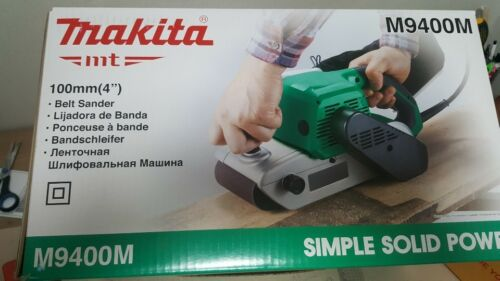 "354 mm CB-153 Makita Maktec M9400M Ceinture Sander 940 W 220-240 V filaire 4/""x24/"" 14 lb environ 6.35 kg"