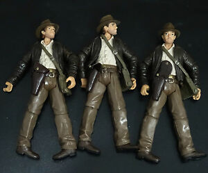 "lot of 3 Indiana Jones Raiders of the Lost Ark action figure 3.75/"" #ns1"