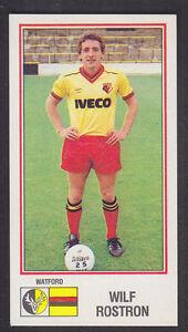 Panini-Football-83-317-Wilf-Rostron-Watford
