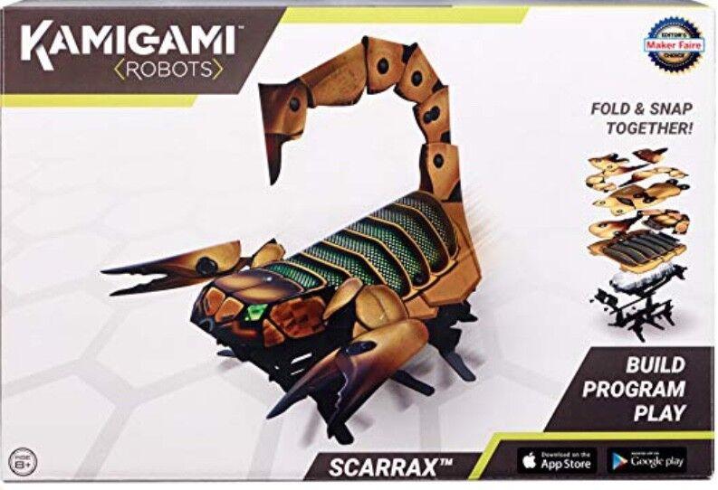 Nuevo Kamigami Scarrax Robot De