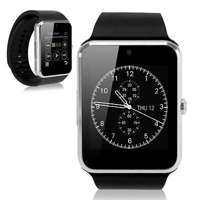 """1.54"""" GT08 Touch Screen Bluetooth Smart Wrist Watch Phone Mate For Android IOS"""