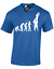 EVOLUTION OF RUGBY LINEOUT MENS T-SHIRT PLAYER FAN GIFT PRESENT DESIGN IDEA