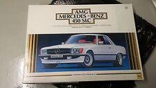Otaki 1/12 Scale AMG Mercedes Benz 450SLC Vintage Model Car Kit RARE