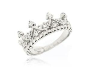 925 Silver My Princess Queen Crown Designed Ring For Women