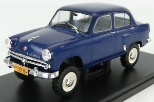 EDICOLA 1/24 MOSKVITCH | 410 1957 | BLUE