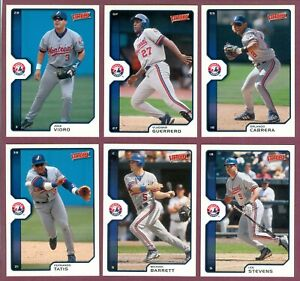 2002-Upper-Deck-Victory-Montreal-Expos-Baseball-CARD-MLB-SEE-LIST