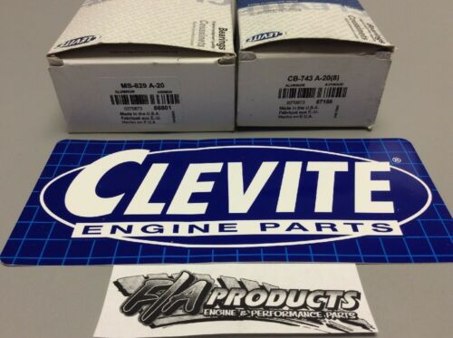 Big Block Chevy 454 Clevite Mahle MS-829A20 8 CB743A820 Rod Main Bearing Kit