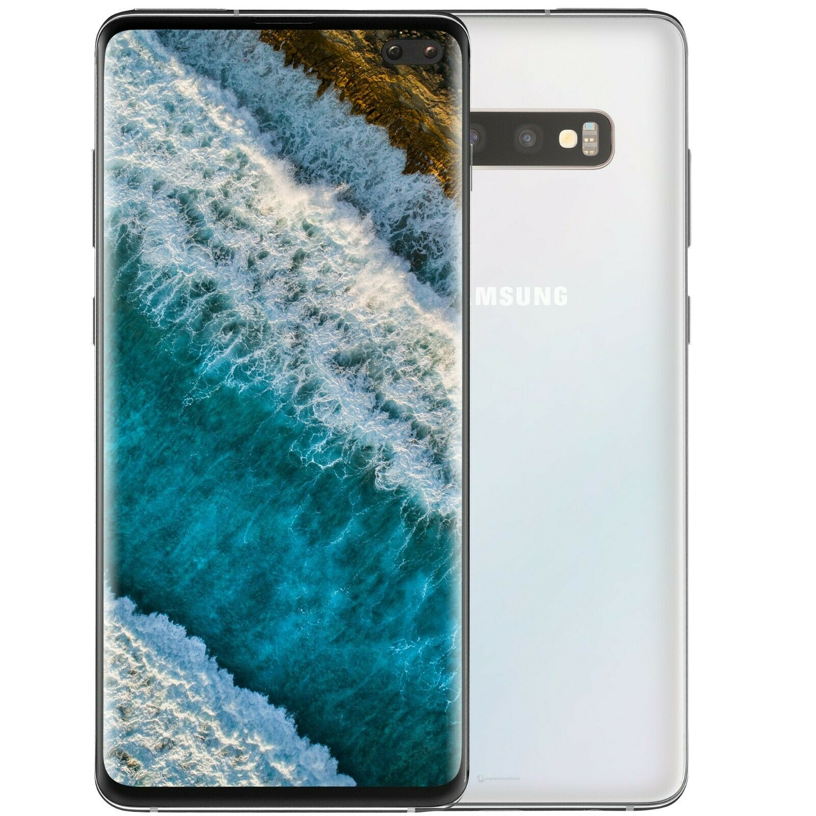 Verpackung OHNE Gerät Samsung  Galaxy S10 Original BOX mit Zubehör Weiss