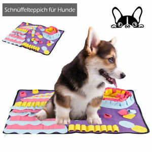 Dog-Pet-Snuffle-Mat-Nose-Training-Sniffing-Pad-Toys-Feeding-Cushion-Blanket-AU