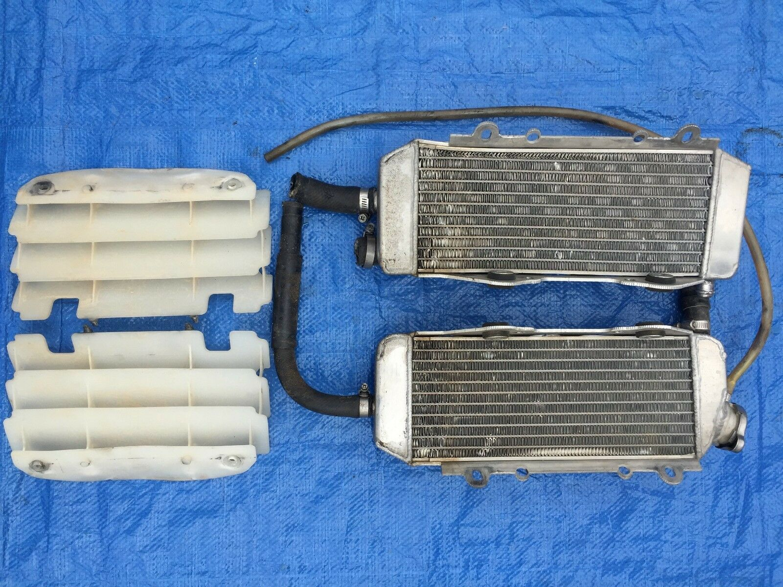 2004 04 Kawasaki Kx250f  Kx 250f Radiators Cooling System Left Right Set Assembly  fast delivery and free shipping on all orders