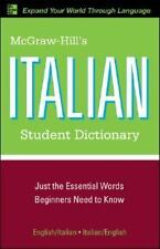 McGraw-Hill's Italian Student Dictionary (McGraw-Hill Dictionary) Dioguardi, Ra