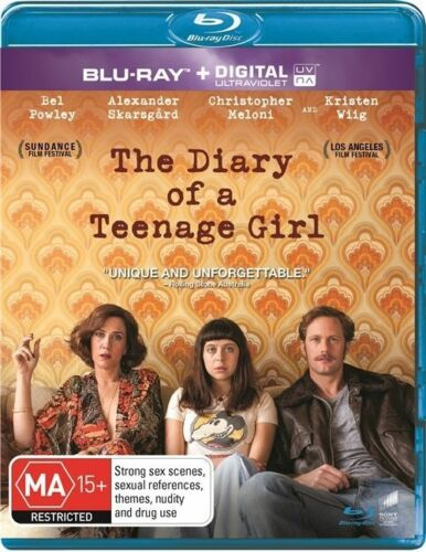 1 of 1 - The Diary Of A Teenage Girl Blu-ray Region B New & Sealed