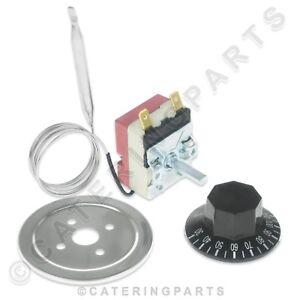 Bain Marie CHAUD ARMOIRE contrôle de température Thermostat Kit 30-110 ° C 16amp 16 A  </span>