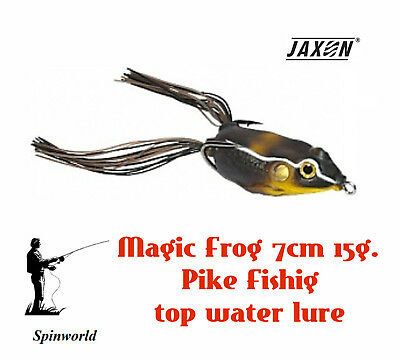 JAXON Magic Fish Frog 7cm 15g zander excellent weighted soft bait for pike