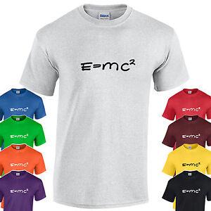 5d5a49853616 ENVÍO GRATIS. La imagen se está cargando E-MC2-Fisica-Ciencia -Big-Bang-Theory-Camiseta-