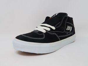 bfeb58e460 Vans Unisex Sneakers Men Women Black Half Cab Skate Shoes  2515