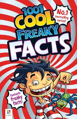 1 of 1 - 1001 Cool Freaky Facts By Glen Singleton