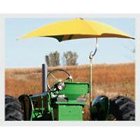 Tractor Sun Shade Umbrella White