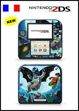 LEGO BATMAN Vinyl Skin Sticker for Nintendo 2DS - réf 137