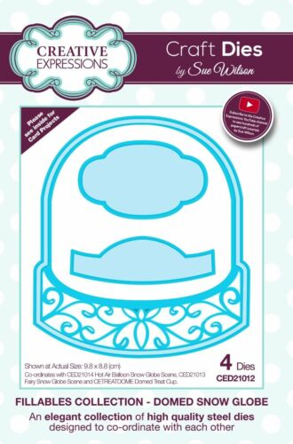 Creative Expressions Stamps /& Treat Cups New 2017 Sue Wilson Fillables Dies