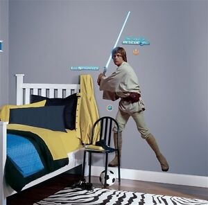 Star Wars Classic Luke Skywalker Wall Stickers Mural Decals 73