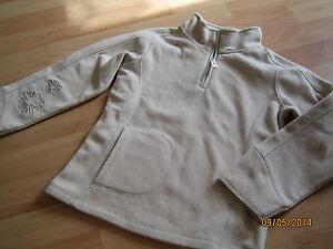 edel-hochwertiger-Fleece-Pullover-Troyer-beige-von-AIGLE-gr-122-128-TOP
