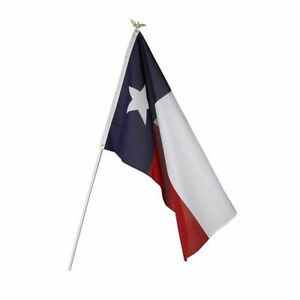 3x5 3 X 5 Texas Tx Flag And 6 39 Ft Flagpole Kit Us Made Ebay