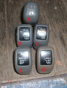 Mitsubishi-Pajero-NH-NJ-NK-Etc-Gear-Knobs